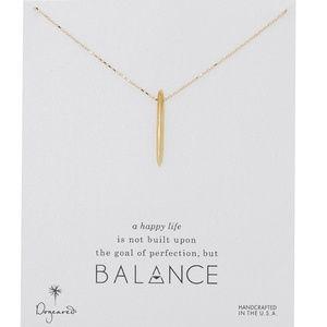 Dogeared Balance Spear Necklace